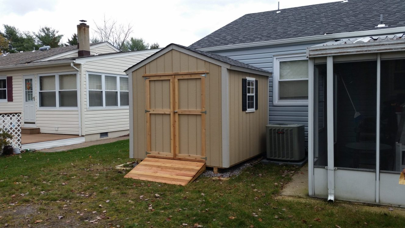 THE T-111 UTILITY SHED TACKROOM